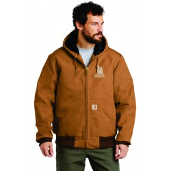 Carhartt Quilted-Flannel-Lined Duck Jacket